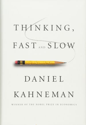 George Rosenfeld's recommendation: 'Thinking, Fast and Slow' by Daniel Kahneman.