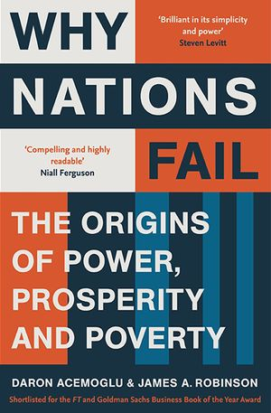 Toke Aidt's recommendation: 'Why Nations Fail' by Daron Acemoglu and James Robinson.