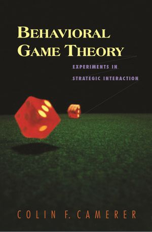 Tads Ciecierski-Holmes's recommendation: 'Behavioural Game Theory' by Colin Camerer.