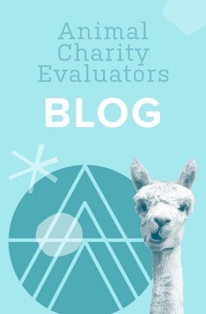 Leah Edgerton's recommendation: 'The ACE Blog' by Animal Charity Evaluators.