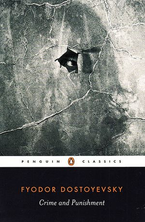 Julia Schvets's recommendation: 'Crime and Punishment' by Fyodor Dostoyevsky.