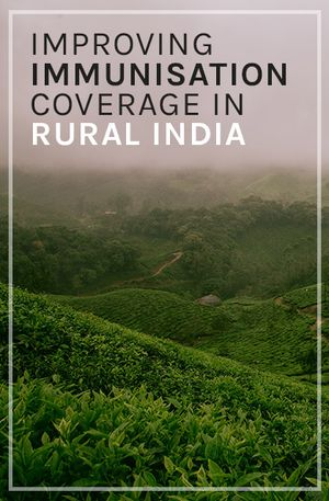 Tads Ciecierski-Holmes's recommendation: 'Improving immunisation coverage in rural India' by Banerjee, Duflo, Glennerster, & Kothari.