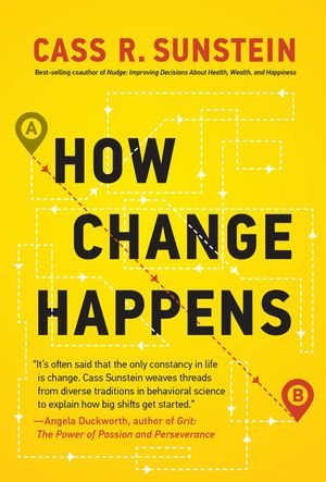 George Rosenfeld's recommendation: 'How Change Happens' by Cass Sunstein.