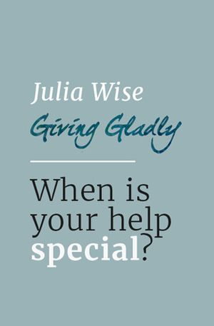 Eve McCormick's recommendation: 'When is your help special?' by Julia Wise.