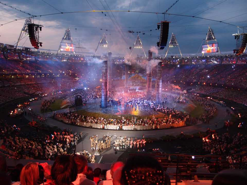 2012 London Olympic games opening ceremony