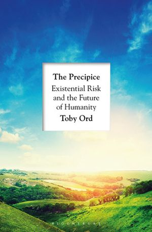 Eve McCormick's recommendation: 'The Precipice' by Toby Ord.